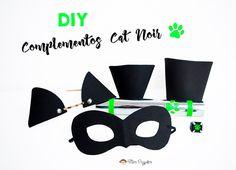 diy complementos disfraz cat noir costume complements Cat Noir Kostüm, Miraculous Ladybug Party, Ladybug Costume, Cosplay Diy, Pj Mask, Happy Birthday Quotes, Diy Costumes, Costume Ideas, Book Week