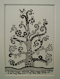 Another beautiful tree by Madeleine de Kemp - i could so see my daughter painting this in her room!