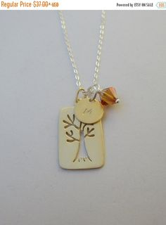 Hey, I found this really awesome Etsy listing at https://www.etsy.com/listing/259152010/gold-tree-necklace-carved-vermeil-tree