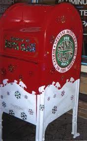 santa mailbox -]
