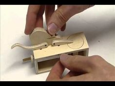 A collection of videos from the internet on several Wooden Cat & Mouse Automata projects. There are instructions in German I believe. I do not claim the orig...