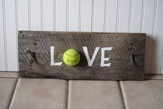 Tennis hook rack!