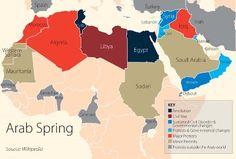 Γιατί η Αραβική Άνοιξη δεν «γκρέμισε» τις Αραβικές Μοναρχίες; ~ Geopolitics & Daily News