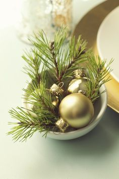 Simple christmas decor idea