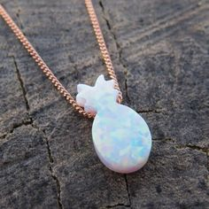 Gold Jewelry A perfectly dainty Pineapple Opal Necklace, Available with Gold filled, Sterling silver or Rose gold filled Don't forget to use your… - Opal Necklace, Opal Jewelry, Jewelry Box, Silver Jewelry, Jewlery, Jewelry Accessories, Jewelry Necklaces, Pendant Necklace, Silver Ring