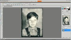 How to Restore Old Family Photographs #2