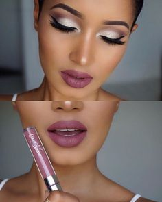 This makeup look by @annybeeutee is gorgeous!!! She's wearing #STINGRAYE on her lips. #colourpop #colourpopcosmetics