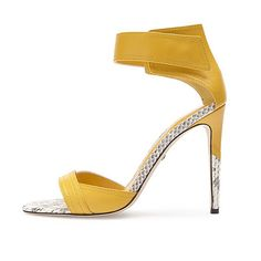Tania Spinelli - WATER SNAKE TRIMMED SANDAL