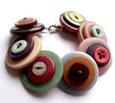 Button Bracelet  £10.50