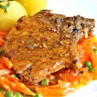 Recept : Kotlety na pepři   ReceptyOnLine.cz - kuchařka, recepty a inspirace Meat, Chicken, Cubs