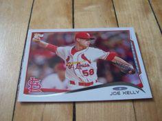 2014 Topps Series 1 Card 62 Joe Kelly | eBay
