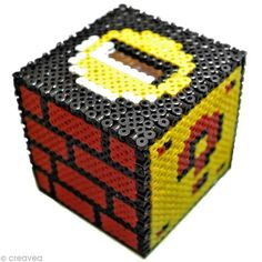 DIY Super Mario piggy bank perler bead pattern