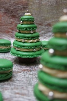 Amazing cakes/macaroons. Would totally love to make these! #myhappychristmas @White Stuff UK: