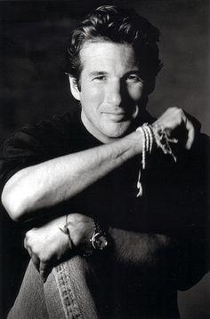 ♂ Black & white portrait man Richard Gere