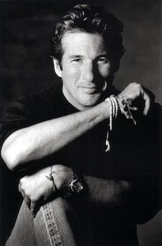 ♂ Black & white portrait man Richard Gere