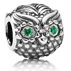 "PANDORA Sterling Silver ""Wise Owl"" Charm"