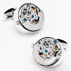 Fancy - Kinetic Watch Cuff Links