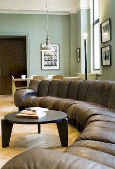 Living Room Red Wall Paint And Grey Sofas Color Combination Of Modern Living Room Design Ideas
