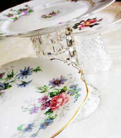 vintage dish rental - vintage dish blog - vintage chinacakestands