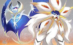 pokemon lunaala | e621 duo koya legendary_pokémon lunaala nintendo pokémon solgaleo ...