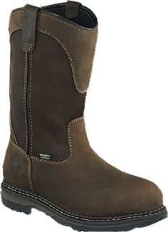 Irish Setter Men's Pull-On Waterproof Aluminum Toe Work Boots, Size: Brown Mens Boots For Sale, Karl Urban, Irish Setter, Pull On Boots, Men's Boots, Dress With Boots, Casual Boots, Black Men, Chelsea Boots