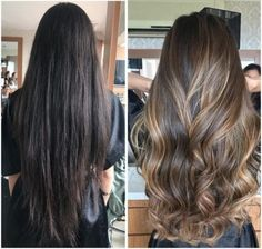 Hair highlights balayage asian Super ideas Hair highlights balayage asian Super i Brown Blonde Hair, Brunette Hair, Dark Hair, Hair Color Balayage, Ombre Hair, Asian Balayage, Bayalage, Balayage On Long Hair, Balayage Highlights Brunette