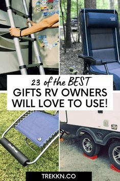 Looking for the best gifts for RV owners? We have the scoop! After full-time RVing for 17 months, we know what RVers want. Check out our list of 15 gifts for the RVing fanatic. #rv #gifts #rvliving #rvtravel #rvlifestyle Gifts For Rv Owners, Rv Gifts, Best Gifts, Rv Accessories, Rv Travel, House On Wheels, Rv Living, Camping Gear, Some Fun