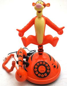 Retro Novelty Tigger Winnie the Pooh Telephone