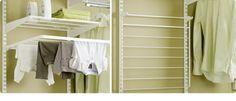 Nedfellbart tørkestativ Tips for vaskerommet Sliding Doors, Storage Solutions, Laundry Room, Shelving, Drawers, How To Plan, Tips, Home Decor, Shelves