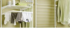 Nedfellbart tørkestativ Tips for vaskerommet | Elfa