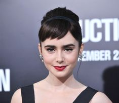 If you look like Lilly Collins-- or are her-- just die! Or on a less severe route, go hide in a cave forever and let the rest of the women in the world have a chance! Ughh, WHY YOU SO PRETTY?! And not to mention talented?!