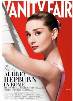 Audrey Hepburn on the cover of Vanity Fair.