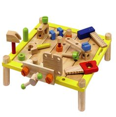 Hello Charlie - Im Toy Activity Workbench with Tools, $89.95 (http://www.hellocharlie.com.au/im-toy-activity-workbench-with-tools/)