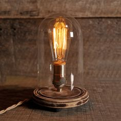 Bell Jar Table Lamp - TouchOfModern