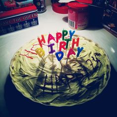 How to save money and celebrate a housemate's birthday.