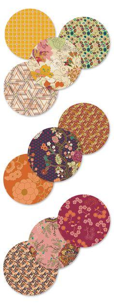 Pat Bravo's Indie collection in Sunlight Bazaar colorway