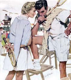 vintage romance art