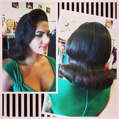 Hair by atomictantrum, the perfect pageboy.