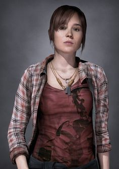 Beyond Two Souls video game with Ellen page