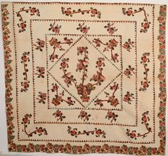 Broderie Perse Tree of Life Quilt image 2