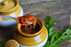 Spicy Prawn Pickle - How to make spicy prawn pickle with step by step illustration - Powered by @ultimaterecipe