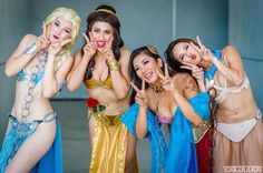 Disney Princess Slave Leias Are An Unstoppable Force [Cosplay]