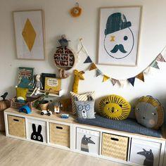 Artwork for children's rooms Baby Bedroom, Baby Boy Rooms, Diy Bedroom Decor, Home Decor, Kids Bedroom Designs, Kids Room Design, Ikea Kids Desk, Kid Spaces, Decoration