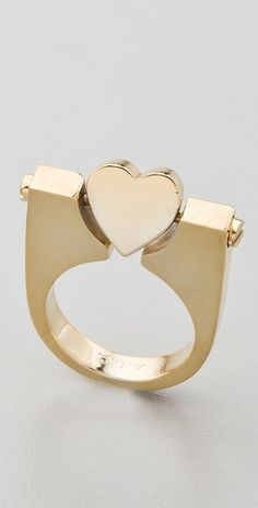 This would be fun to play with – Rotating Heart Ring.