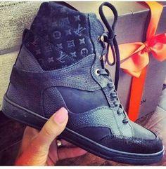 LV Wedge Sneakers