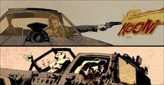SDCC'13: Mad Max Motion Comic Video Game Tie-In - Major Spoilers - Comic Book Reviews and News