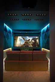 home theatre lighting ideas. #basement Home Theater #home Movie Design Ideas # Room Theatre Lighting