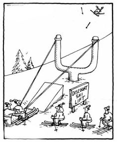 Discount ski lift ... maybe not a good idea after all, LOL.