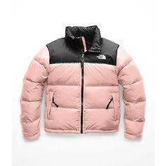 North Face Women's 1996 Retro Nuptse Jacket - Misty Rose North Face Coat, North Face Jacket, Doudoune The North Face, North Face Outfits, Black Girl Fashion, Sporty Fashion, Ski Fashion, Fashion Women, Winter Fashion