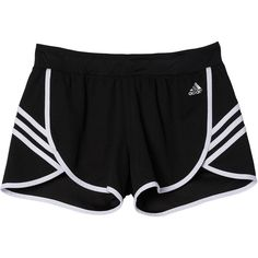 adidas Ultimate Knit Shorts ($25) ❤ liked on Polyvore featuring activewear, activewear shorts, adidas sportswear, adidas activewear and adidas